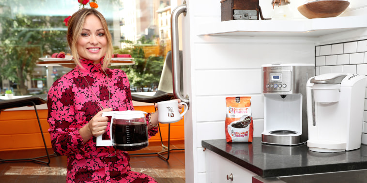Dunkin' Donuts Coffee At Home Opens The First-Ever Tiny Home Run On Coffee With Olivia Wilde In NYC
