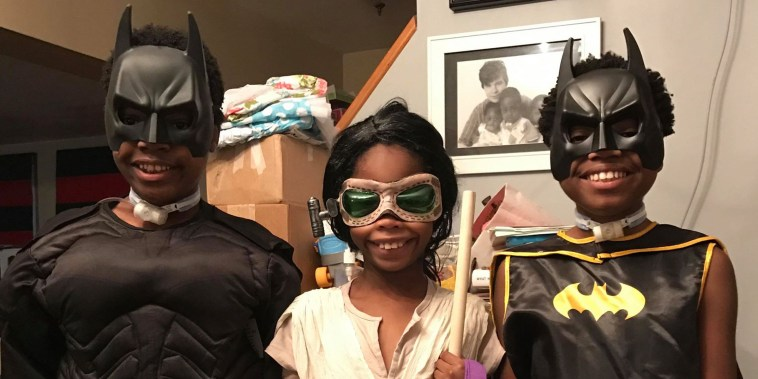 Gretchen Kirby's son, Tavish, has autism and Halloween can sometimes be challenging for him. But he still loves dressing up and being a part of the fun. She finds planning ahead makes it easier.