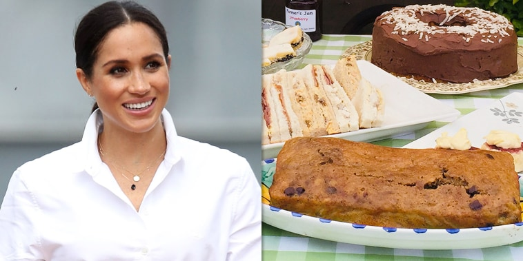 Meghan Markle and banana bread