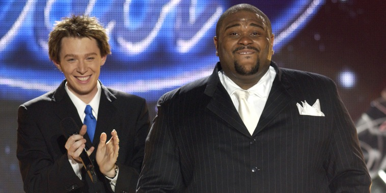 "Clay Aiken and Ruben Studdard on ""American Idol"""