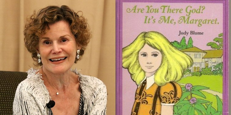 Judy Blume/AYTGIMM cover