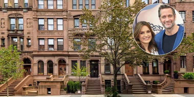 Mariska Hargitay and Peter Hermann are selling their beautiful NYC townhouse