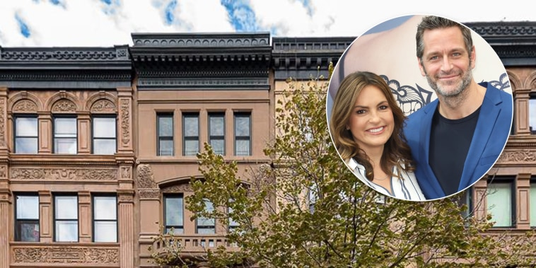Mariska Hargitay and Peter Hermann are selling their beautiful NYC townhouse