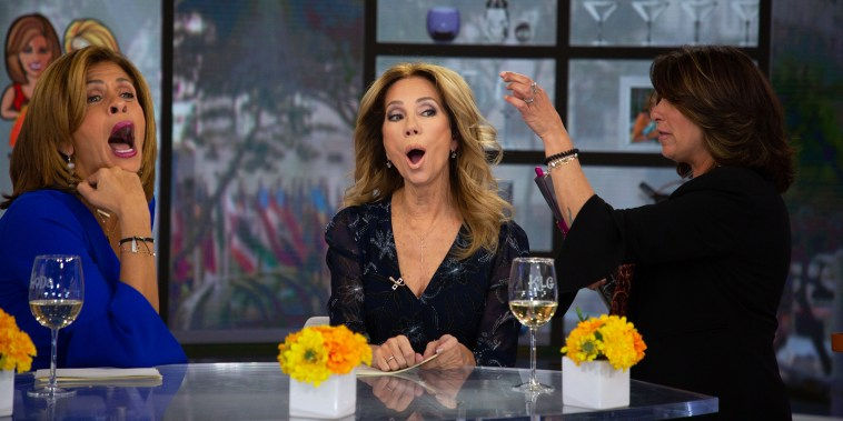 Kathie Lee and Hoda test the Dyson Airwrap styler