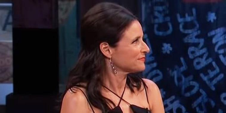 Julia Louis-Dreyfus talks about her cancer diagnosis on Jimmy Kimmel Live