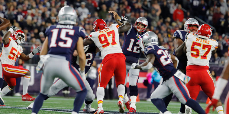 Image: NFL: Kansas City Chiefs at New England Patriots