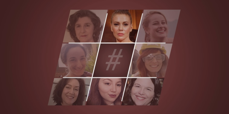 Seven women who were among the initial responders to Alyssa Milano's #MeToo tweet and Facebook post a year ago, agreed to share reflections on how their #MeToo moments drove them to rethink their careers and lives.