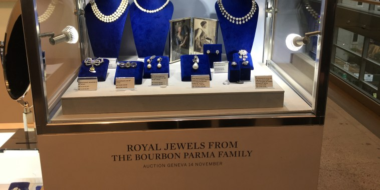 Image: Royal Jewels from the Bourbon Parma Family