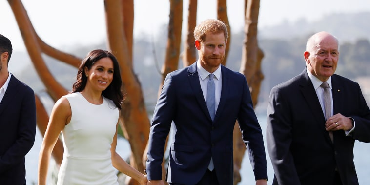 Image: The Duke And Duchess Of Sussex Visit Australia - Day 1