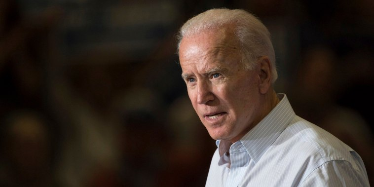 Image: Former Vice President Joe Biden speaks during a campaign event for Kentucky democratic congressional candidate Amy McGrath