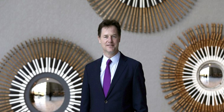 Image: Facebook hires former British deputy prime minister Nick Clegg as head of its global affairs and communications