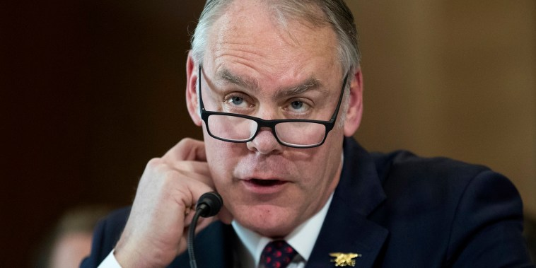 Image: Interior Secretary Ryan Zinke