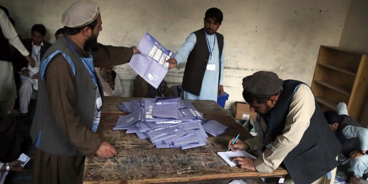 Image: Parliamentary elections in Afghanistan