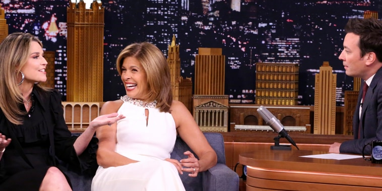 Savannah and Hoda were on Fallon