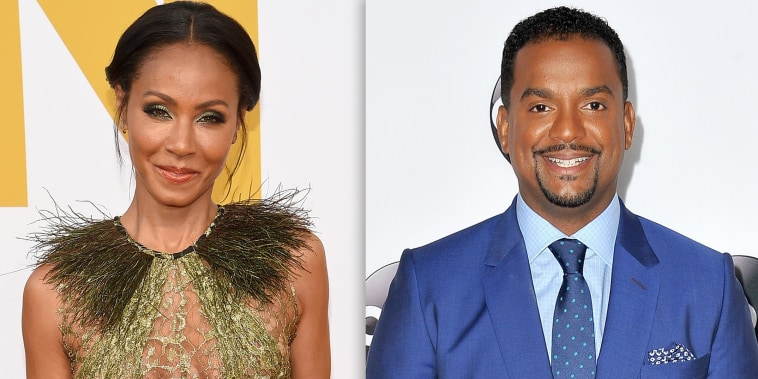 Jada Pinkett Smith and Alfonso Ribeiro