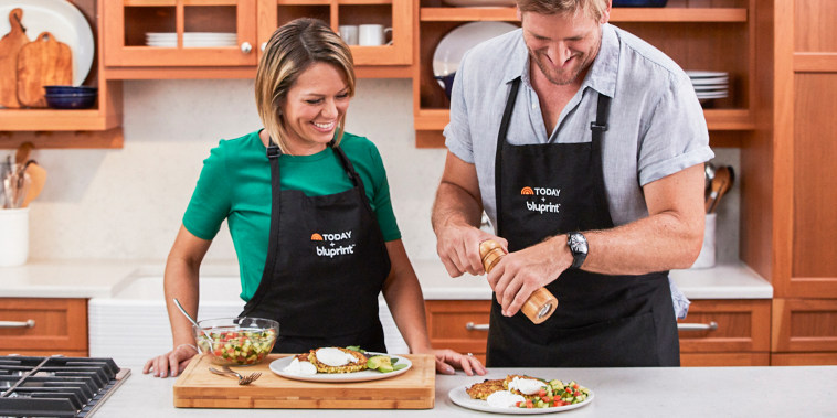 Dylan Dreyer and Curtis Stone