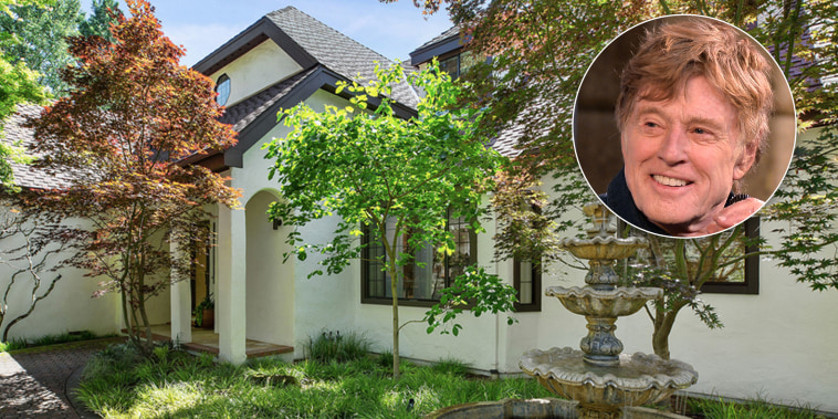 Robert Redford is selling his Napa vacation house