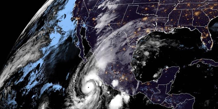 Image: Hurricane Willa off Mexico's Pacific coast.