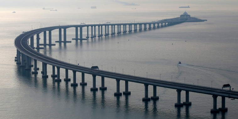 Image: The Hong Kong-Zhuhai-Macau Bridge