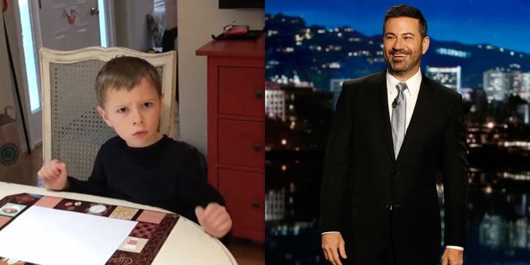 Jimmy Kimmel's candy challenge