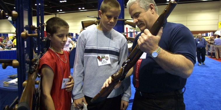 Image: Children and Guns
