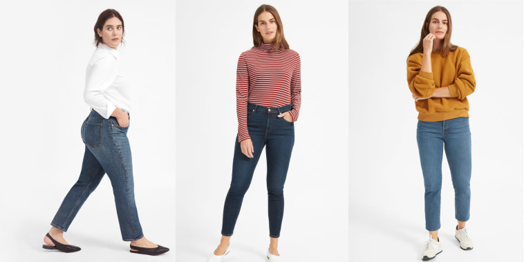 The Everlane jeans that racked up a 44,000-person waitlist are finally on sale