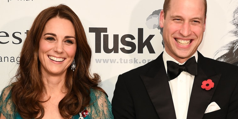 BRITAIN-ROYALS-AFRICA-CONSERVATION-TUSK