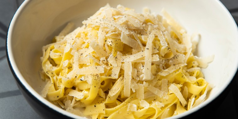 Fettucine with Buffalo Butter and Parmigiano Reggiano