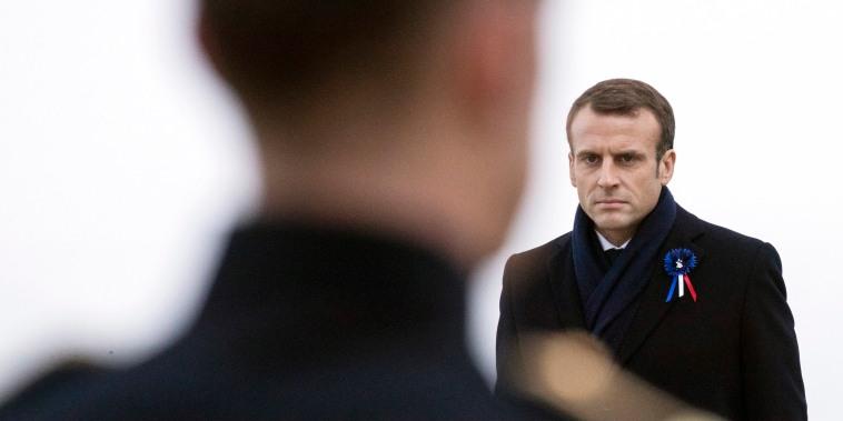 Image: French President Emmanuel Macron