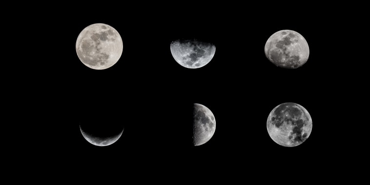 Image: Moon phases
