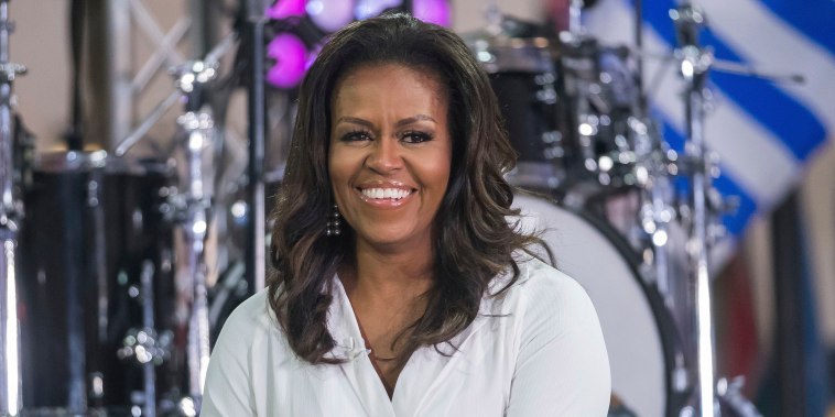 """Image: Michelle Obama participates in the International Day of the Girl on NBC's """"Today"""" show in New York"""
