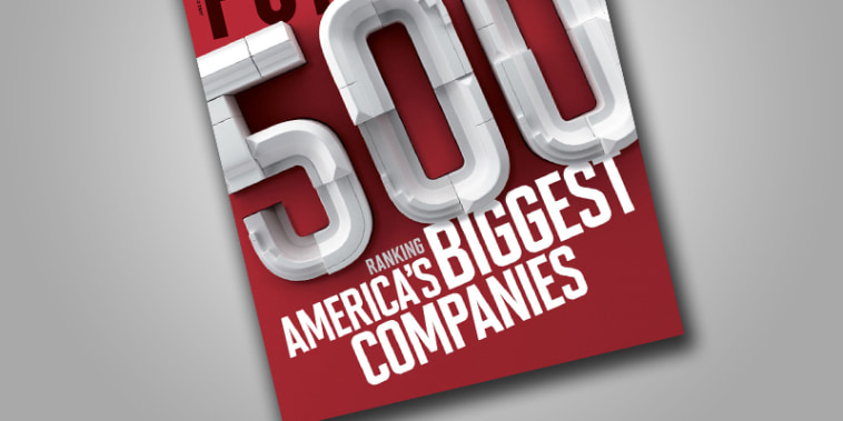 Fortune magazine's annual ranking of America's largest corporations.