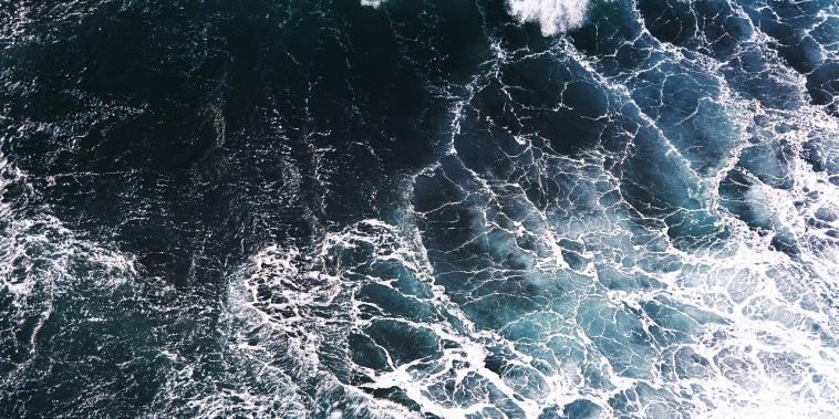 Image: Aerial view of waves
