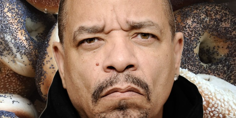 Ice-T has never tried a bagel before