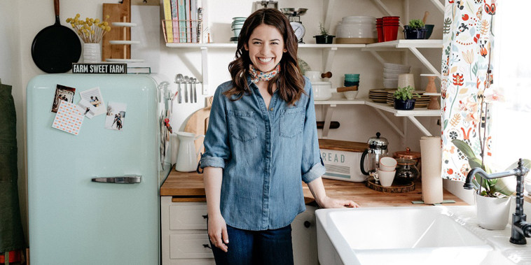 Host Molly Yeh, as seen on Girl Meets Farm, Season 1.