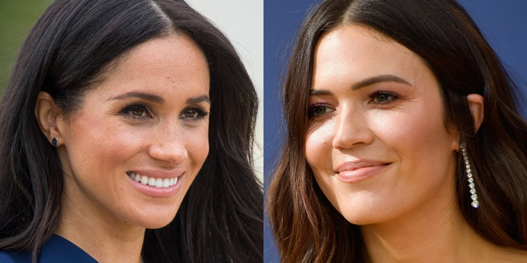 Mandy Moore and Meghan Markle
