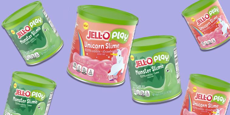 Jell-O slime