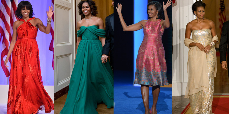 Michelle Obama fashion evolution