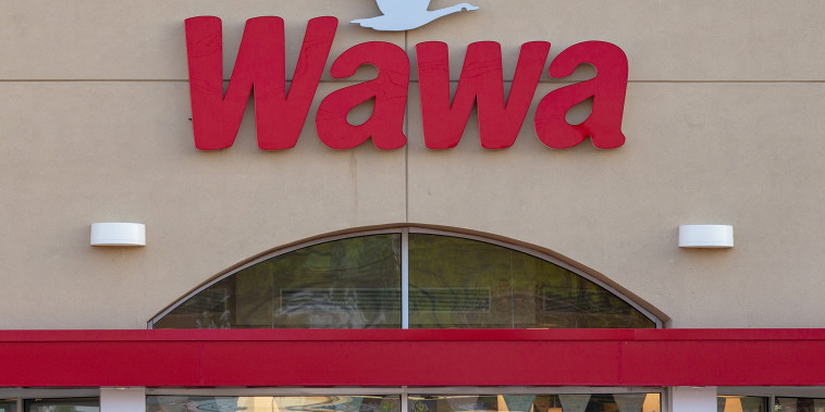 Wawa signage/store and Subway signage/store