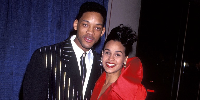 Will Smith and Sheree Zampino