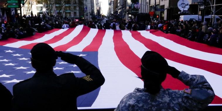 Image: U.S. War veterans