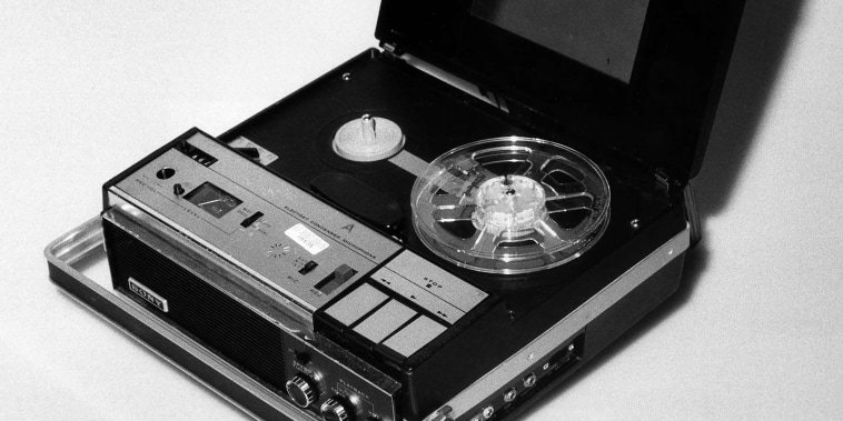 The original Nixon White House tape recorder