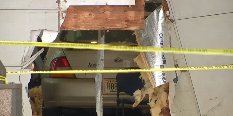 A Nissan sedan slammed into a Social Security field office in Egg Harbor Township, New Jersey, on Nov. 13, 2018 leaving multiple people hurt, some critically.