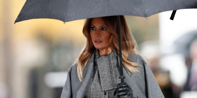 Melania Trump enters fray as rumors grow of White House shake-up