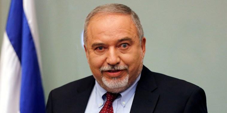 Image: Avigdor Lieberman