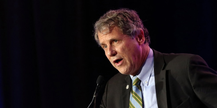 Image: U.S. Senator Sherrod Brown speaks at his election night party in Columbus