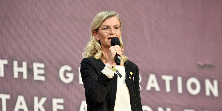 Ulla Tornaes speaks onstage during the 2018 Global Citizen Festival: Be The Generation in Central Park on Sept. 29, 2018.