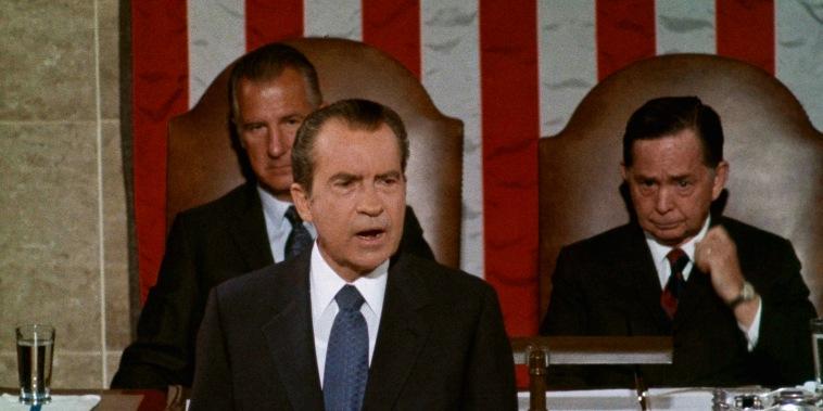 Richard M. Nixon, Spiro T. Agnew, Carl Albert