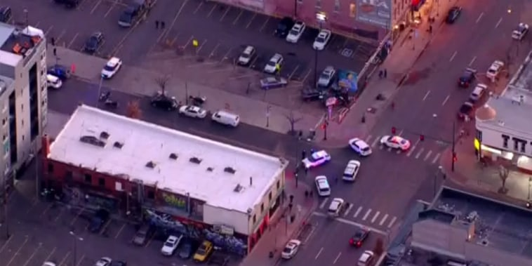 Image: Denver Police respond to shooting in downtown, Denver