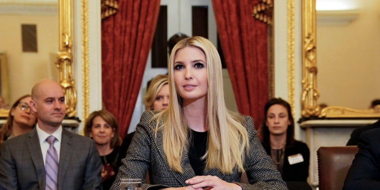 Image: Ivanka Trump speaks during a news conference to discuss Build Act implementation at the Capitol